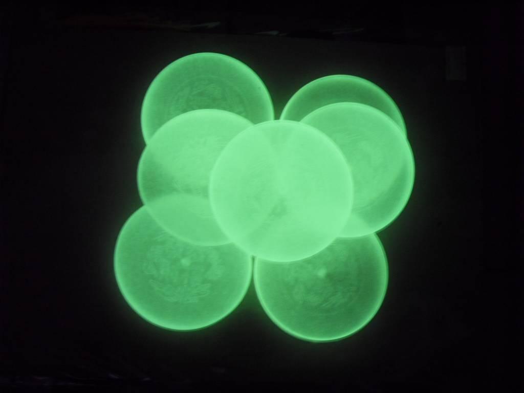 luminescent plastic molding products