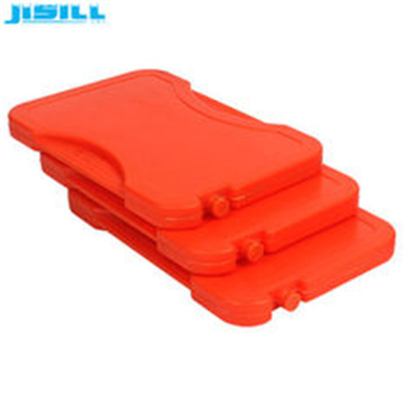 Safe material PP Plastic Red Reusable Hot Cold Pack Microwave Heat packs For Lunch Box