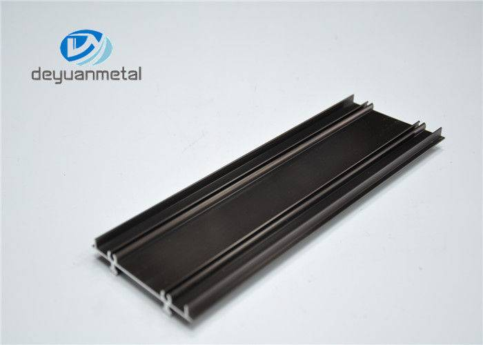 Champagne Anodizing Aluminium Extrusion Profile With Alloy 6063-T5
