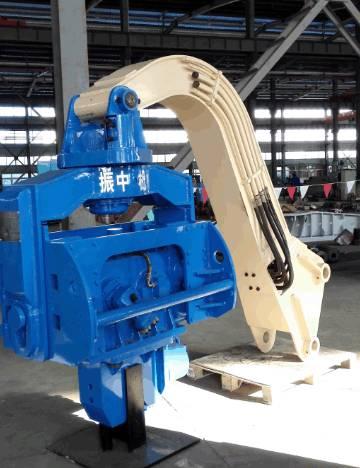 YZM50 excavator mounted vibro hammer