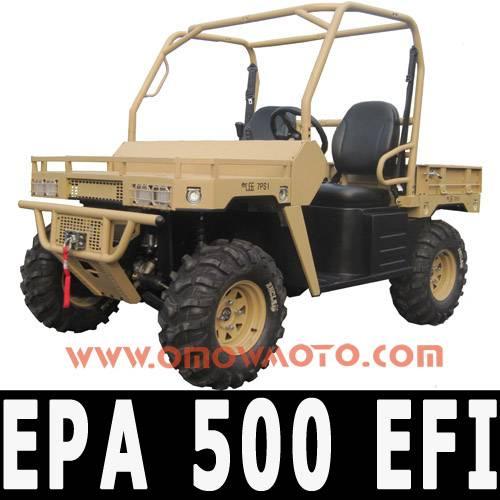 EPA 500cc CVT 4x4 Hunt UTV