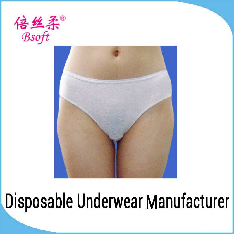 Cheap Young Ladies Disposable Underwear/ Underwear child model girl