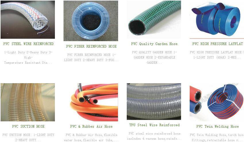 PVC Hose / water pipe for home and garden