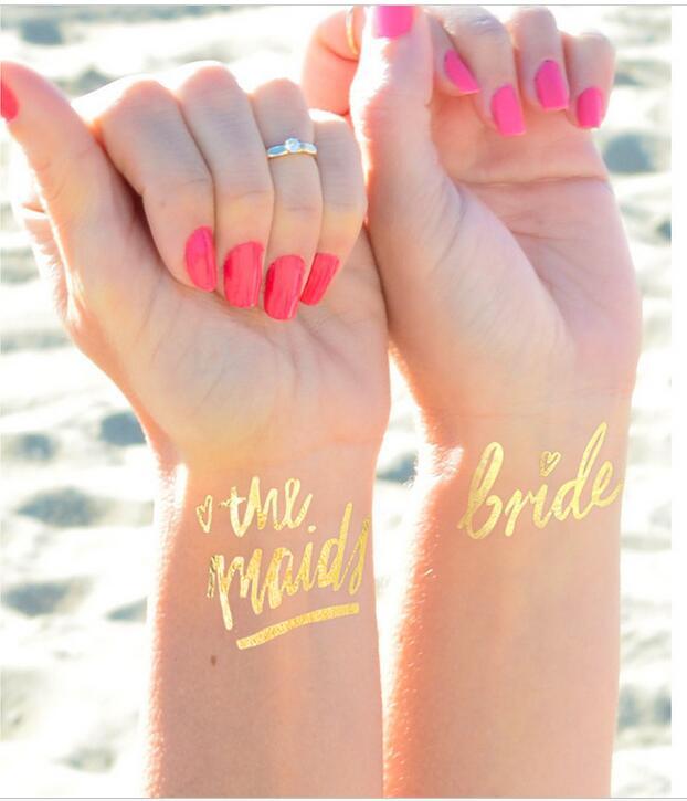 tattoo stickers bride tattoo