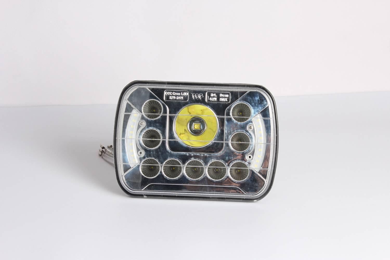 Cree,angle eye,Work light,led,Big Sale for HKWL5045-7N,Diecast aluminum,jeep,auto,car headlight,West