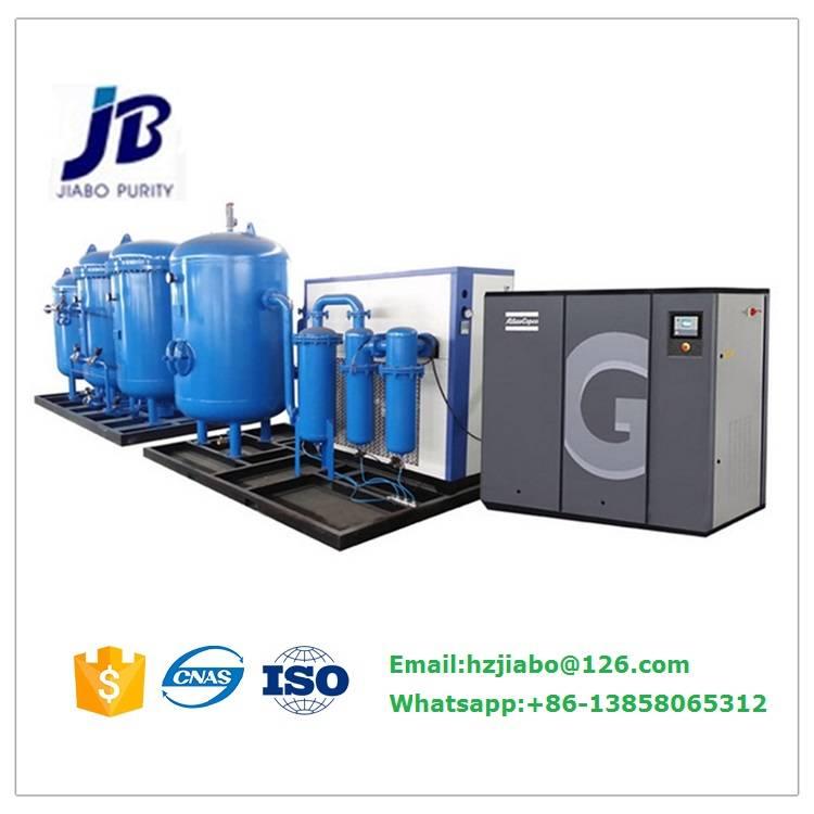 PSA Oxygen Generator for Bottle Filling Station