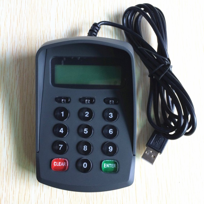 YD532DS smart contact chip card reader writer with PinPad