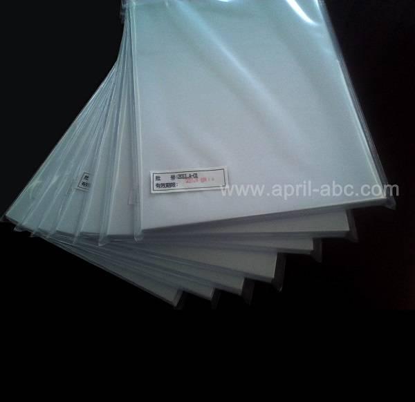 Inkjet Pvc White Inkjet Pvc Sheet White