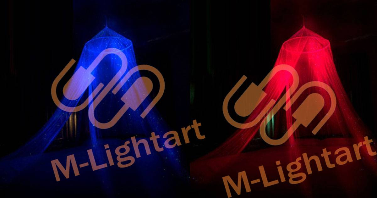 luminous LED mosquito net