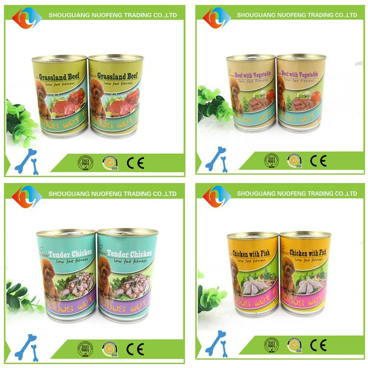 cheap pet food wholesale canned dog food factory
