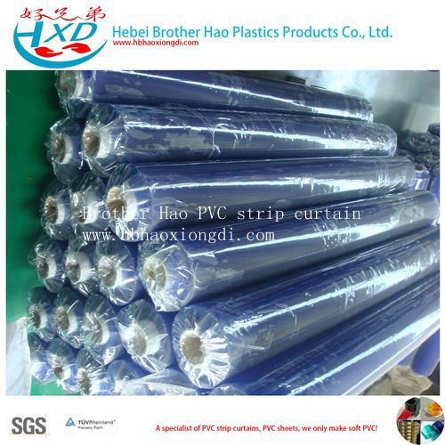 Waterproof Soft Clear PVC Plastic Vinyl Sheet