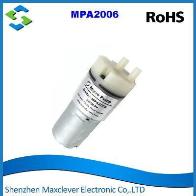 MPA2006L -Membrane Vacuum Pump,  Brush DC Motor