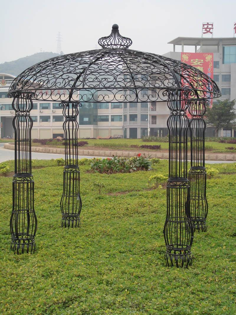 Iron Gazebo Wrought Pavilion For