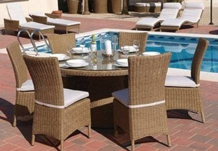 FCO-2071outdoor rattan furniture dining table and chair
