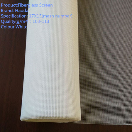 Fiberglass window screen/ glass fiber anti fly mesh