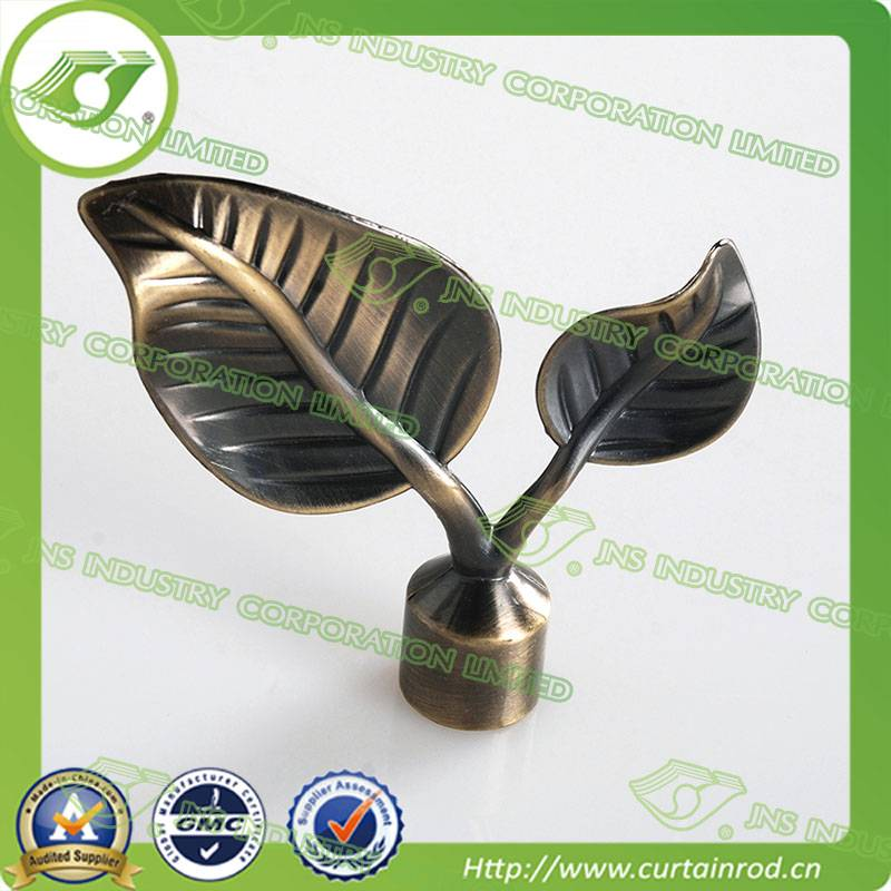 Curtain finial designs,Bronze curtain finial