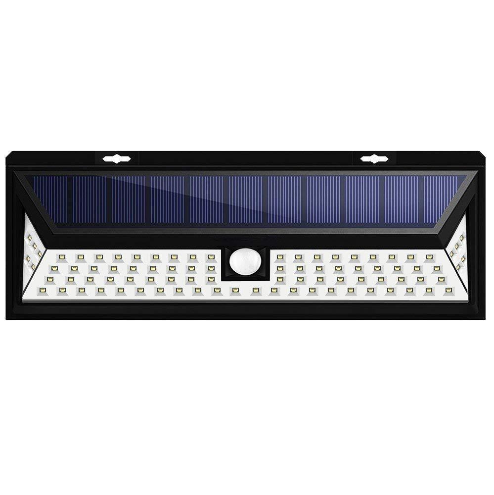 Hot Selling 86 LED Motion Sensor Solar Energy Light for Fence Garden Wall