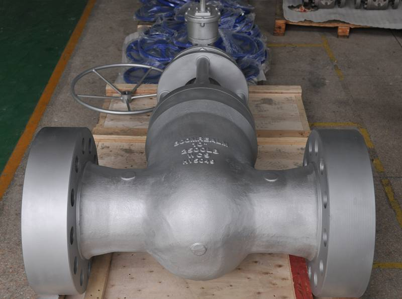 High Pressure Double Disc Parallel Seat Gate Valve