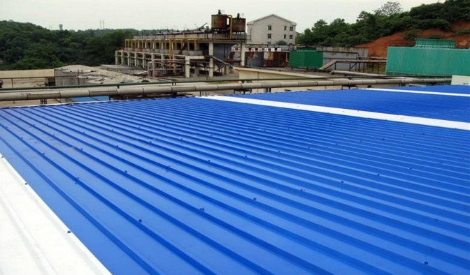 high intensity trapezoidal upvc roofing sheet