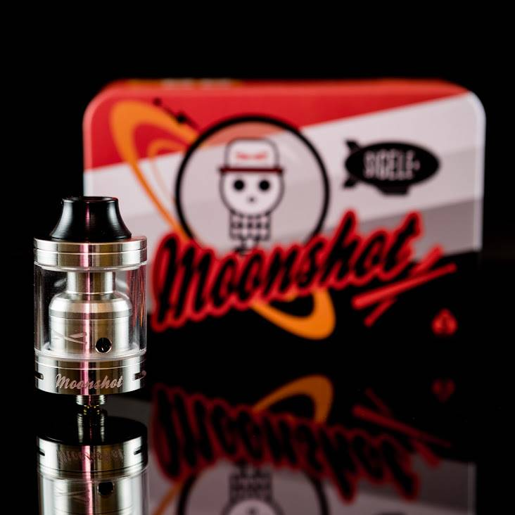 e-cigarette DIY Sigelei Moonshot the 200 wattage DIY Moonshot RTA play your own style!!