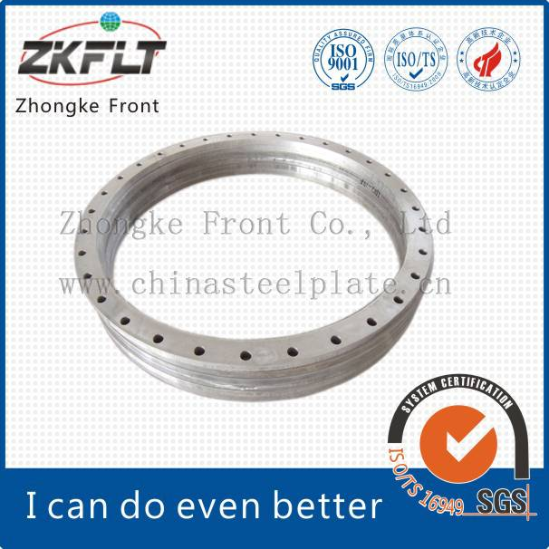 Hot Rolling Carbon Steel Flange Blank with High Quality