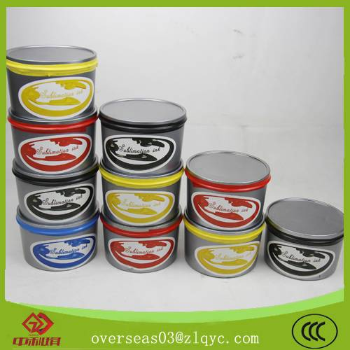 SGS DGM passed cymk advanced sublimation offset printing transfer ink