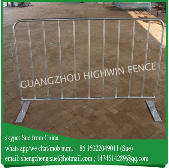 2016 CHINA FACTORY hot galvanized barricades crowd control barrier