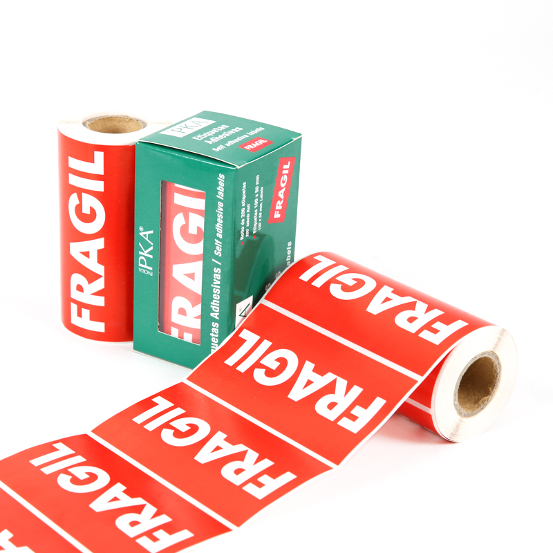 Printing Custom Waterproof Sticker Label Rolls