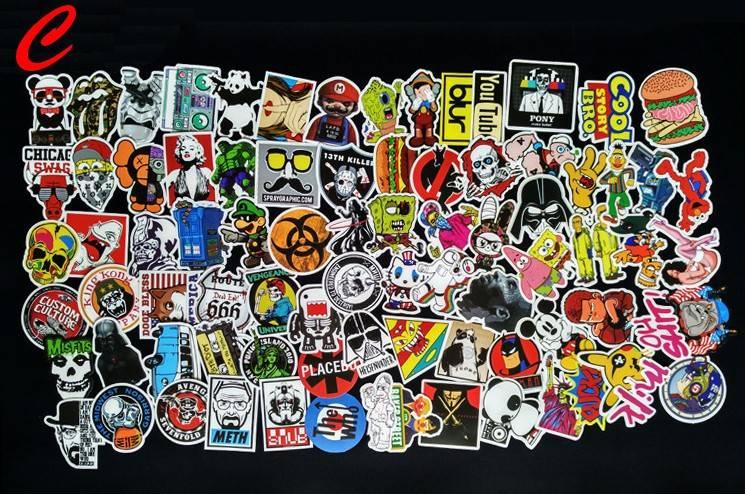 PVC Car Stickers