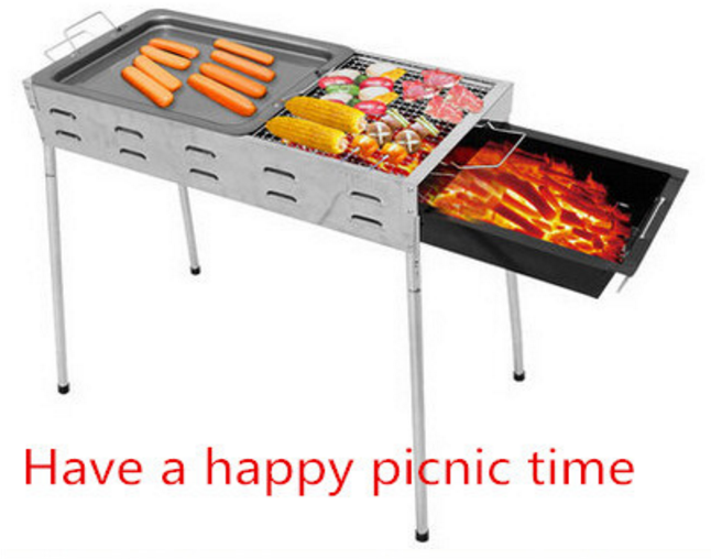 Louvered air vents charcoal bbq grill barbecue