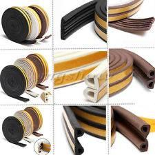 self adhesive rubber seal strip