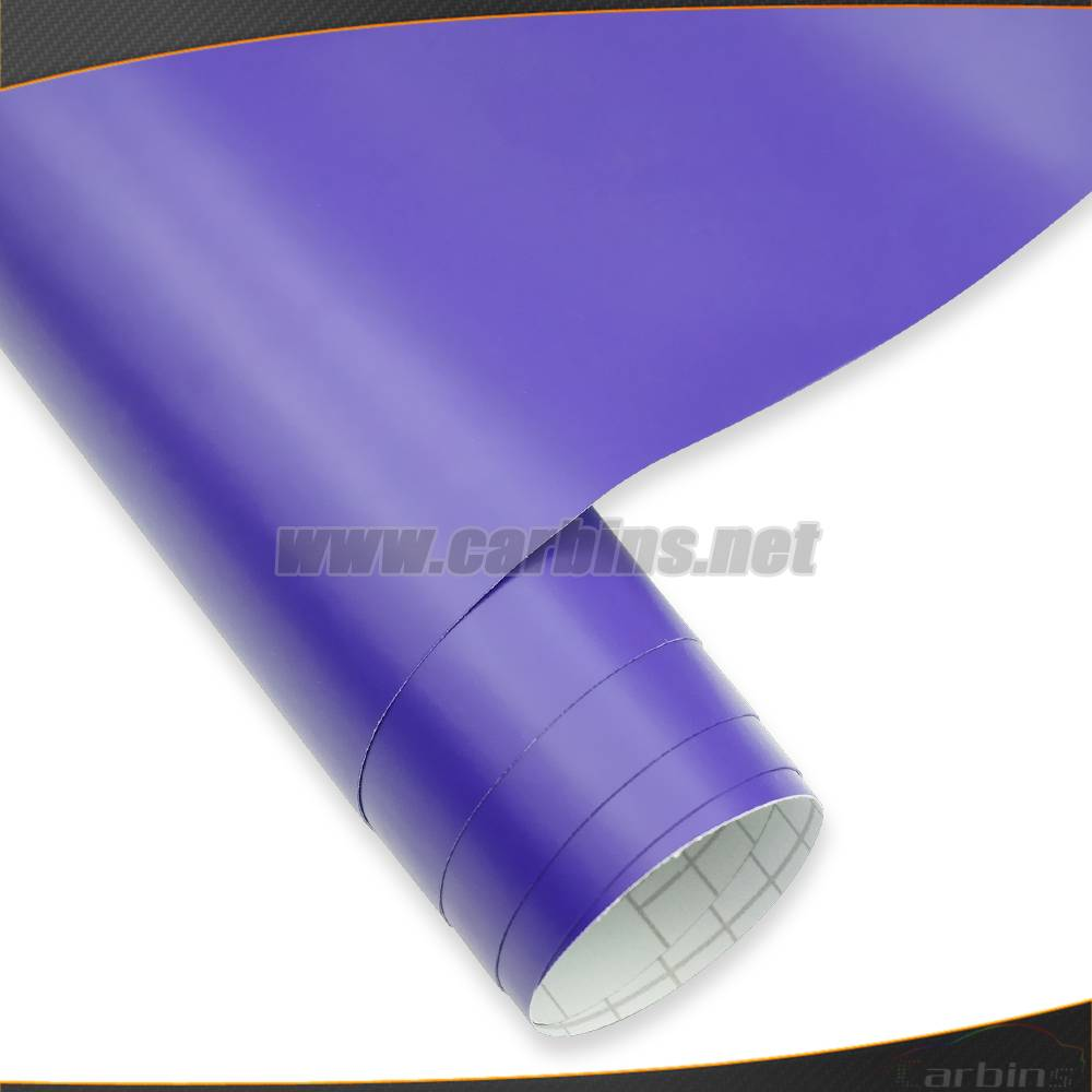 1.52*30m High Quality Matt Purple Color Changing Car Wrap Vinyl Film