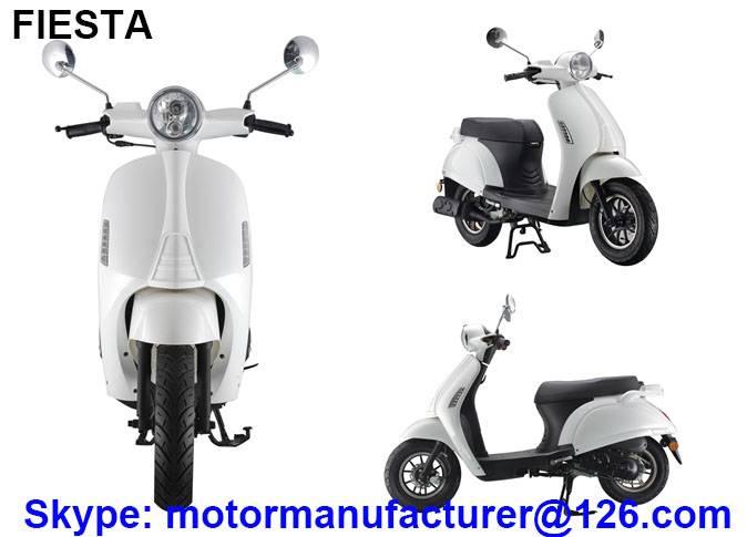 FIESTA Scooter JNEN motor Patent design 2016 fashion model gasoline scooter 50CC/125CC CDI/EFI EEC/E