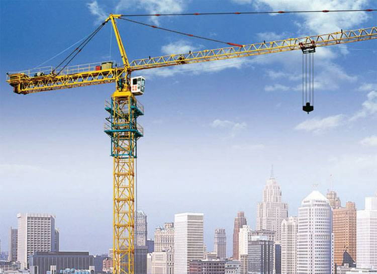 all types of tower cranes for construction