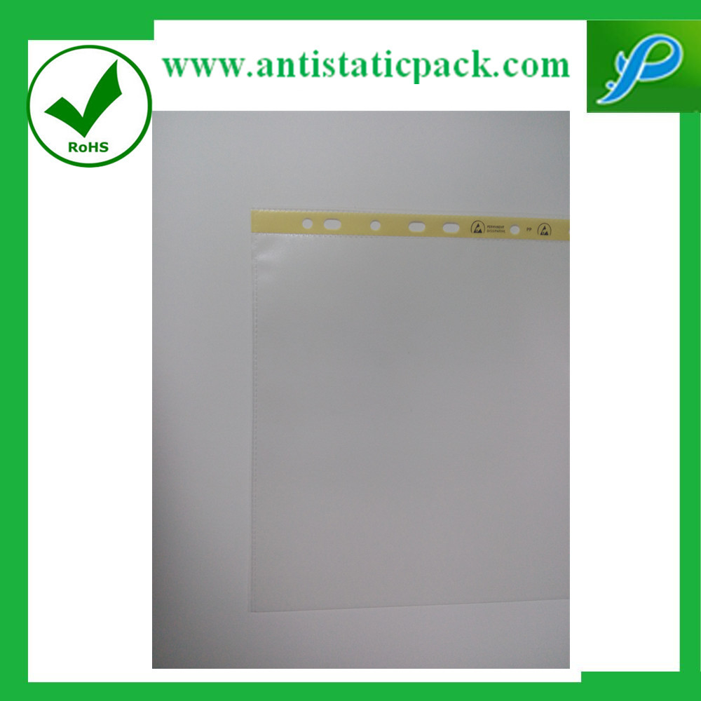 11 Holes Display PP Clear Sheet Protector