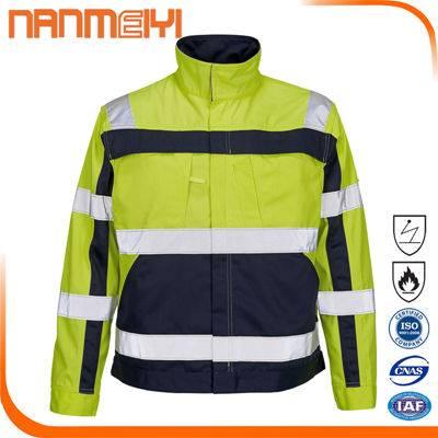 Finished Mens wear 2016 Hi Vis Safety Reflective Jacket