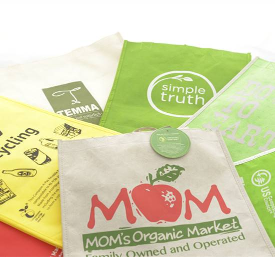 Biodegradable non woven bag