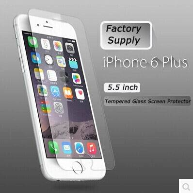 Clear Glossy Tempered Glass Protective Film For 4.7'' And iphone 6 tempered glass 5.5'' iphone 6
