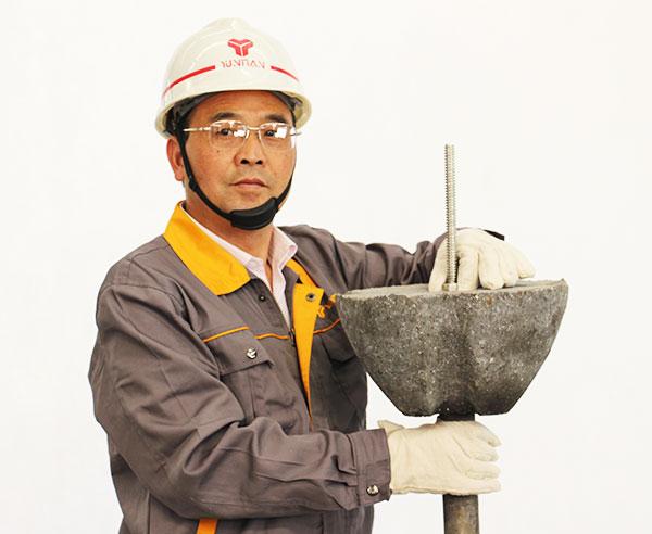 Refractory & Ball Slag Dart For Steel Making