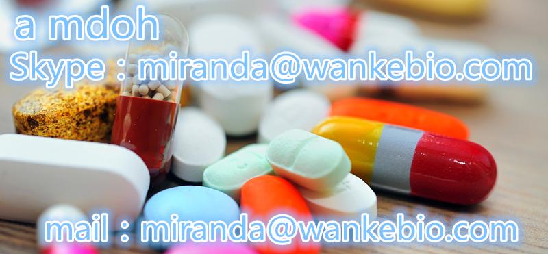 a mdoh 74698-47-8 C10H13NO3 maf 2fdck bk etizolam mail/skype:miranda(@)wankebio.com