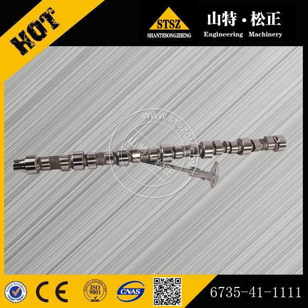 sell PC200-7 excavator S6D102E engine crankshaft 6735-41-1111(Email:bj-012#stszcm.com)