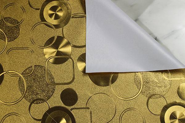 Golden Hot sale in America tablecloth fabric table mat