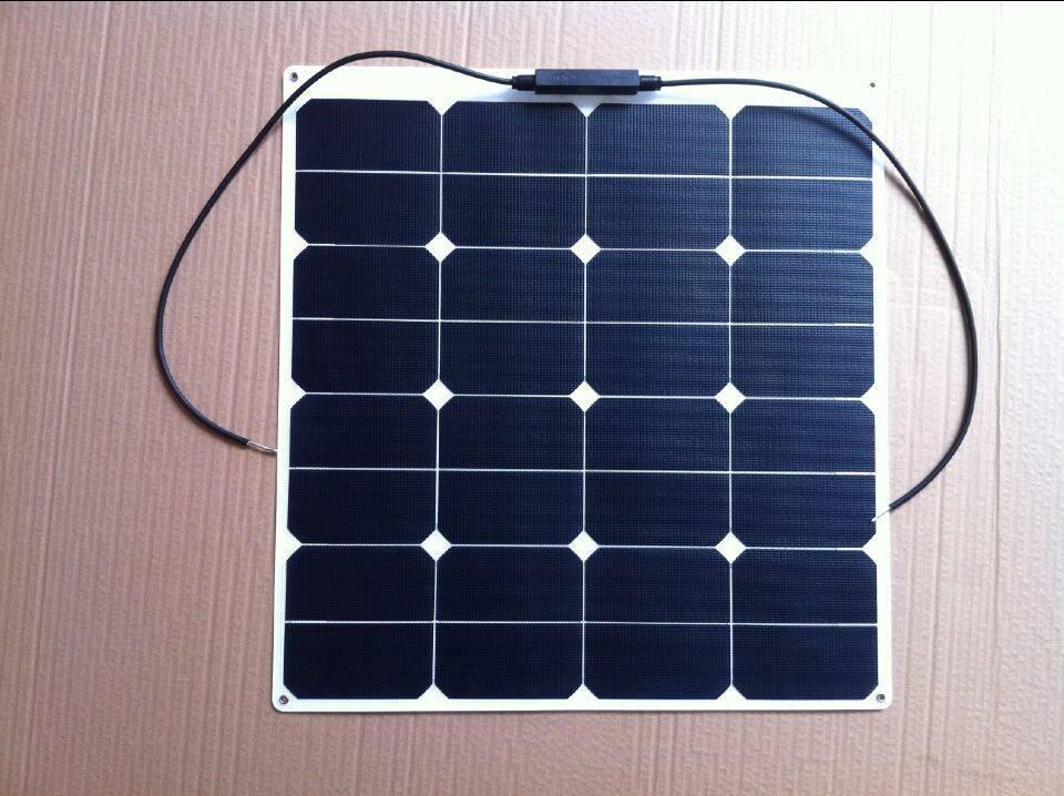 50W flexible solar panels - laminated ETFE materials