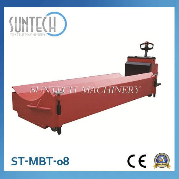 ST-MBT-08 Electric Motorized Big Batch Transport Trolley For Cloth