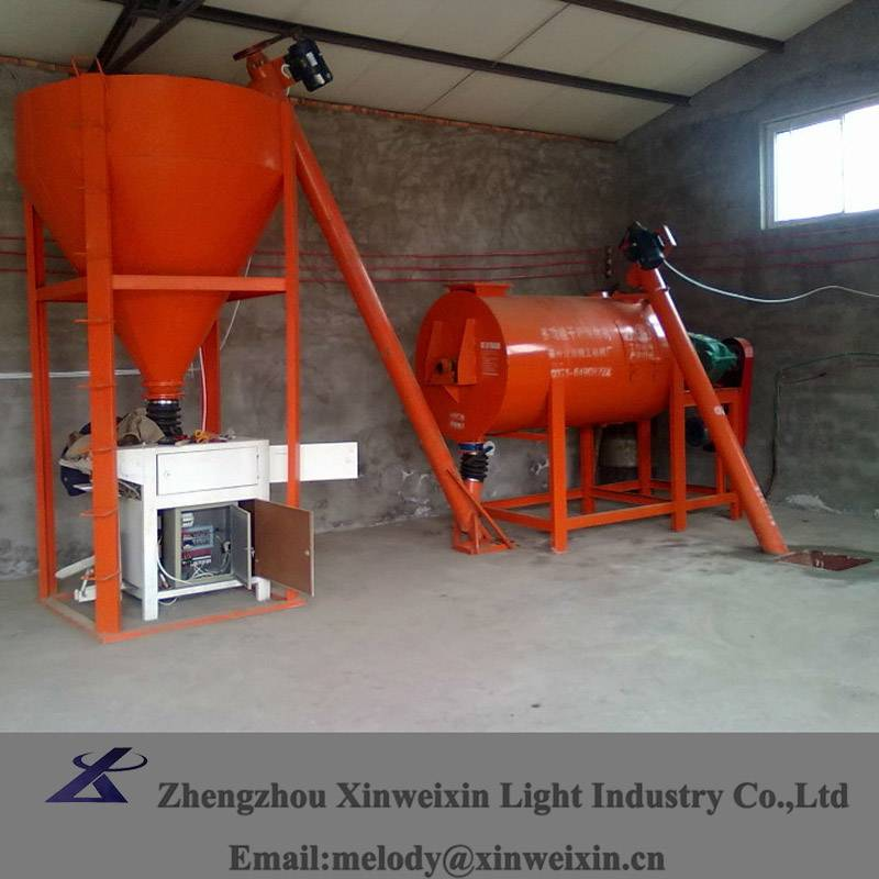 best quality dry powder mixing machine machinery