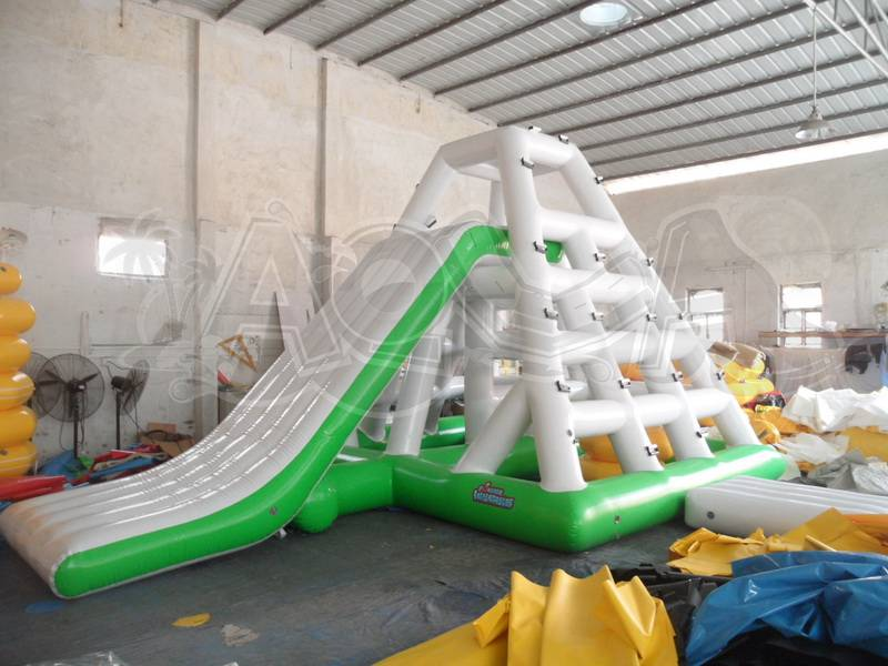 Inflatable Floating Slide Combo
