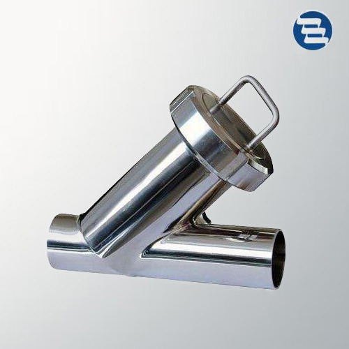 Sanitary Stainless Steel Weld Clamp End Y Type Strainer Filter