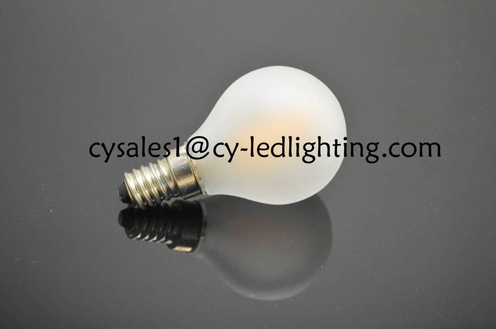 G45 small little global led bulb frosty E12 E14 4W warm white light