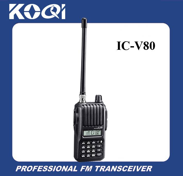 Portable Radio Walkie Talkie IC-V80 136-174MHz two way radio