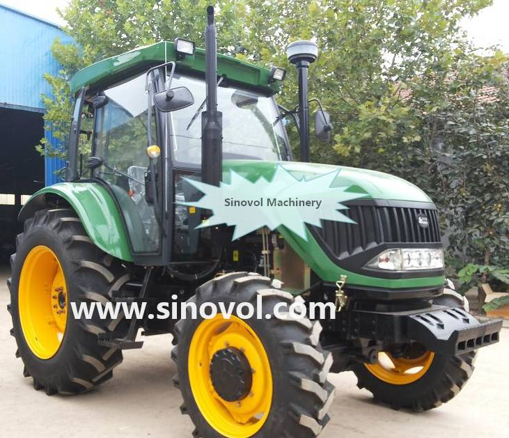 Strong power tractor 90hp-110hp,with famous brand engine